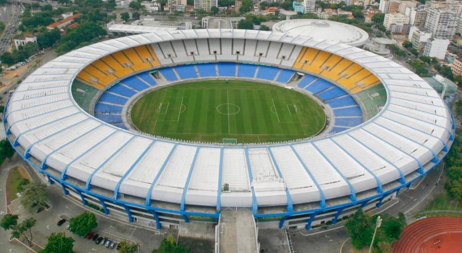 A visita guiada ao Maracanã permite reviver os lances de Zico, o milésimo gol de Pelé, entre outros episódios da história do futebol