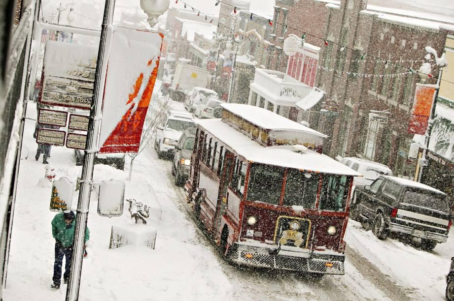 A cidade histórica de Park City é palco do festival de cinema independente Sundance