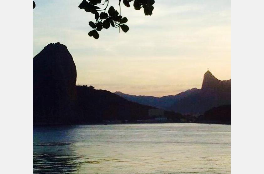 Henrique Sobral fotografou sua melhor vista de Niterói: o Rio