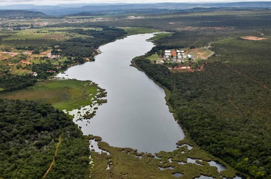 Lagoa Feia, em Formosa, Goiás