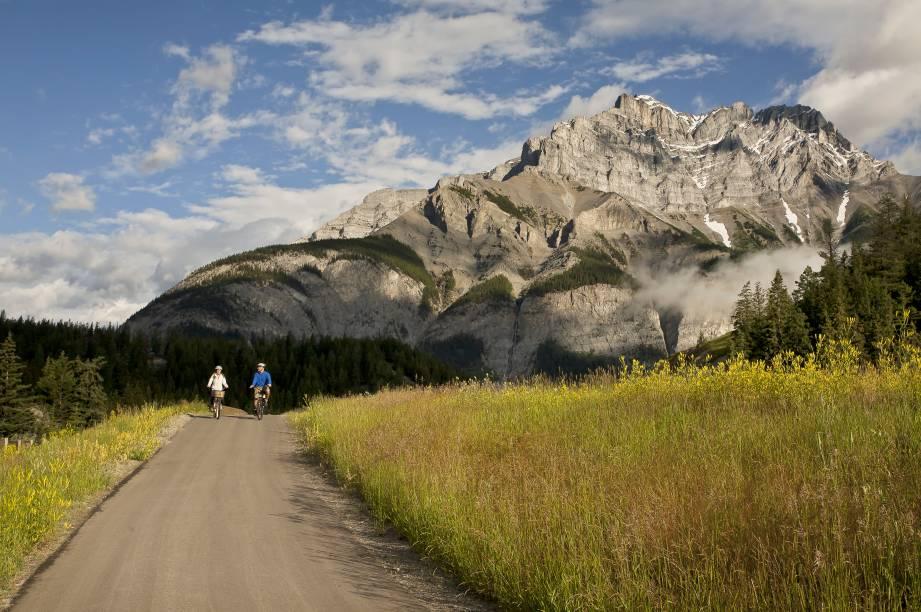 <strong>Trilha Legacy</strong>        Esta trilha bem pavimentada de 22,3km vai do Portão Leste do Parque Nacional de Banff até a estrada do Bow Valley. No caminho há belos mirantes, áreas para piquenique, uma vista para a cidade de Banff e uma série de paradas para descanso. É possível percorrê-la a pé, de bicicleta, skate, patins e por cadeira de rodas (há algumas elevações mais intensas, porém são curtas e bem sinalizadas nos mapas)