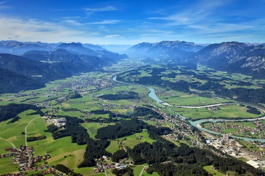 Vale do Inntal, no Tirol