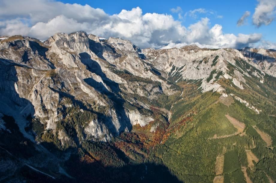 Monte Hochschwab, na Stíria, Áustria