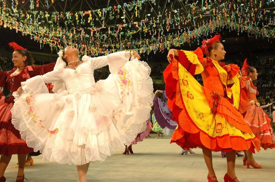 Festival de quadrilha junina agita Natal, no Rio Grande do Norte