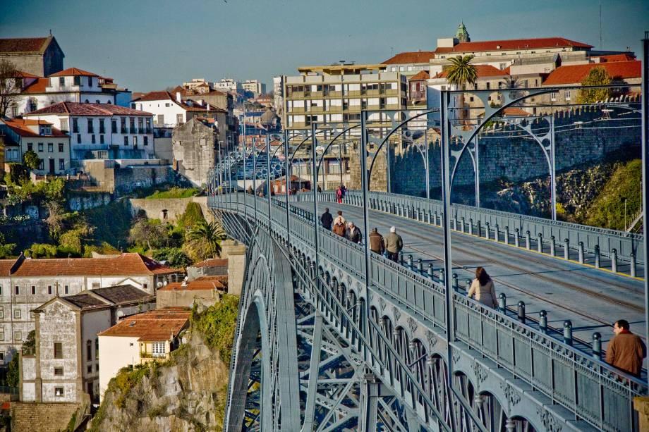 Ponte Luis I, no Porto