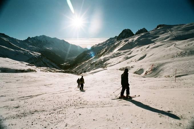 Estação de esqui de Chamonix, na França