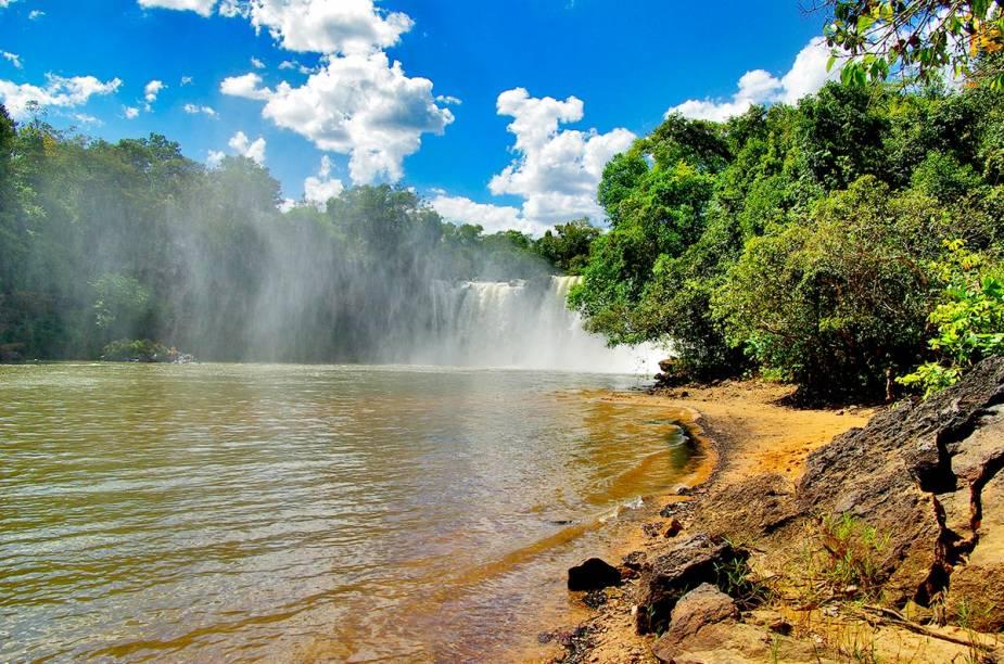 Cachoeira de São Romão, Chapada das Mesas