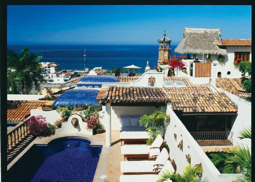Hotel Hacienda San Angel é a hospedagem mais romântica de Puerto Vallarta