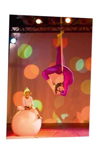 No Circo de los Niños, em San Pancho, crianças têm aulas de acrobacias com artistas do Cirque du Soleil