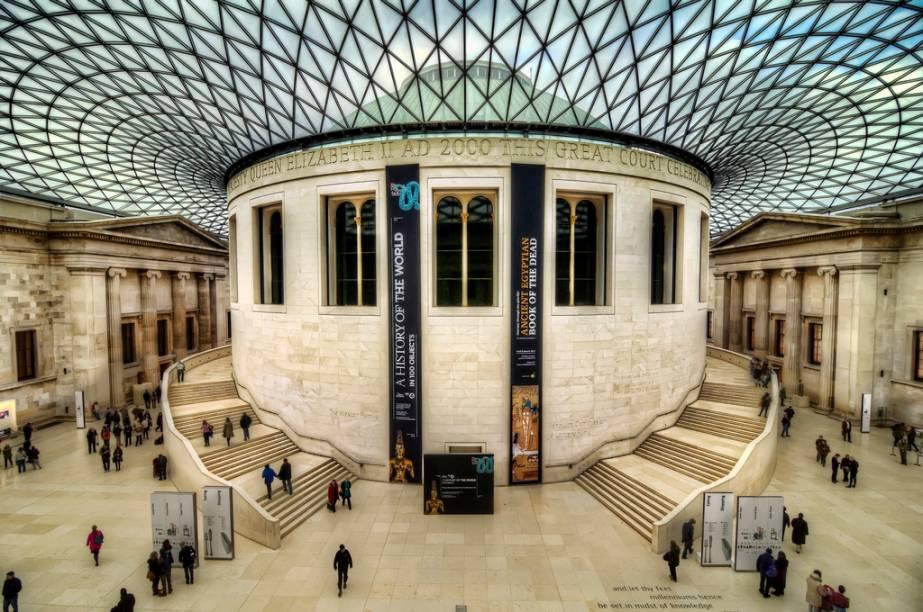 Paraíso para os amantes das artes sem grana no bolso, Londres tem importantes museus com entrada franca permanentemente. No British Museum, relíquias arqueológicas como a Pedra da Roseta, peça-chave para a compreensão dos hieróglifos egípcios, e os frisos do Partenon, devidamente afanados de Atenas, dividem espaço com um moderno pátio cobertoprojetado pelo escritório do arquiteto Norman Foster.<strong>Grátis diariamente.</strong>