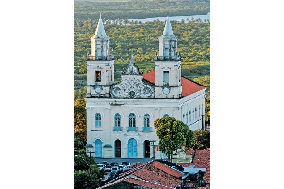 A Igreja de Nossa Senhora das Neves, no Centro Histórico