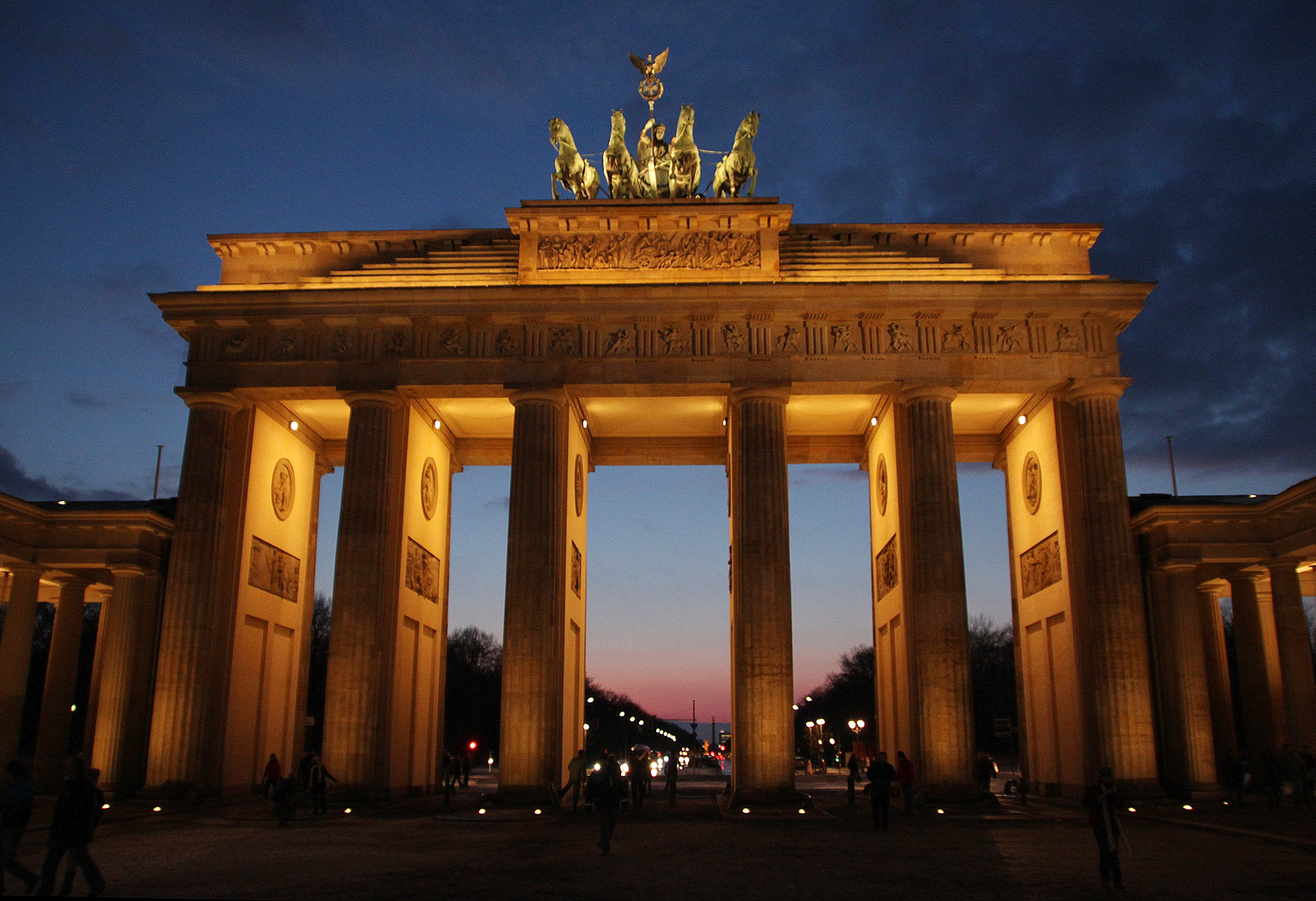 Portal de Brandemburgo - Berlim, Alemanha