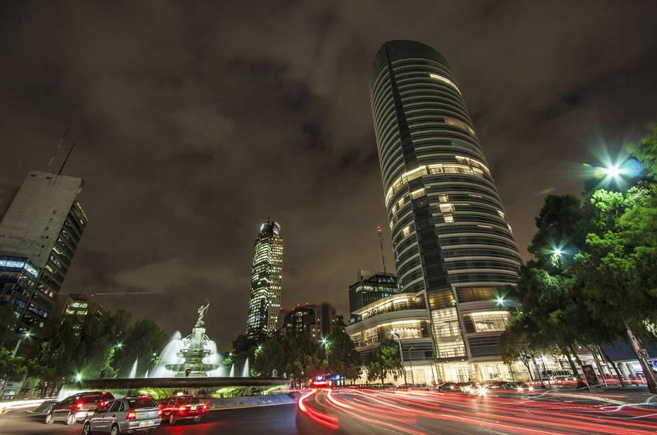 O centro histórico da Cidade do México é repleto de monumentos
