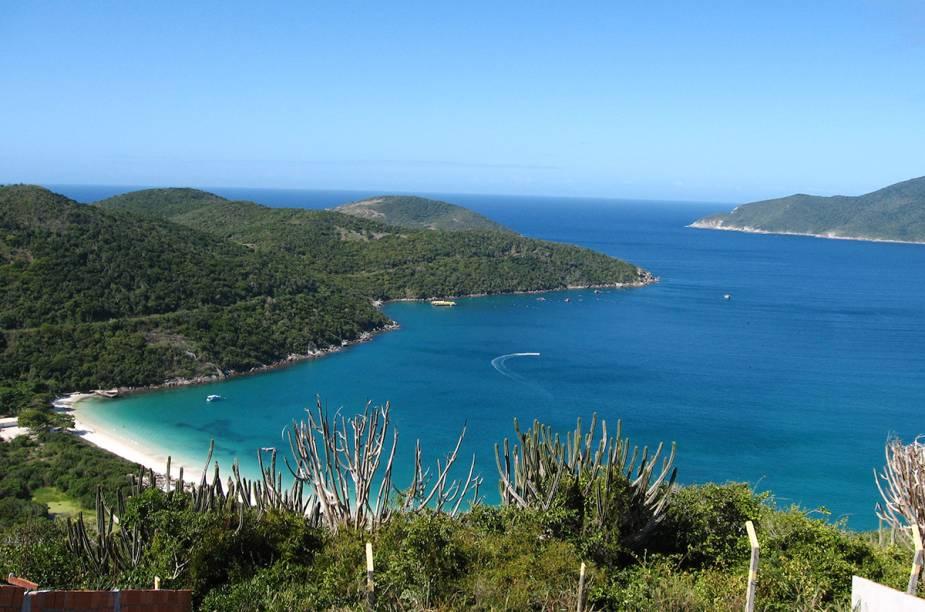 O mar daPraia do Forno, emArraial do Cabo (RJ),é um bom ponto de mergulho na cidade