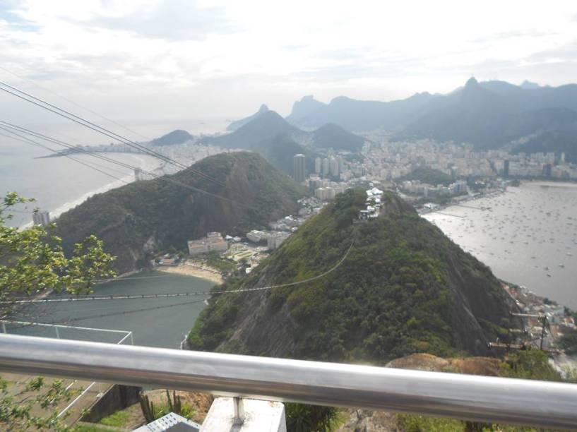 Andre Passos acha que essa vista para o Rio de Janeiro é linda!