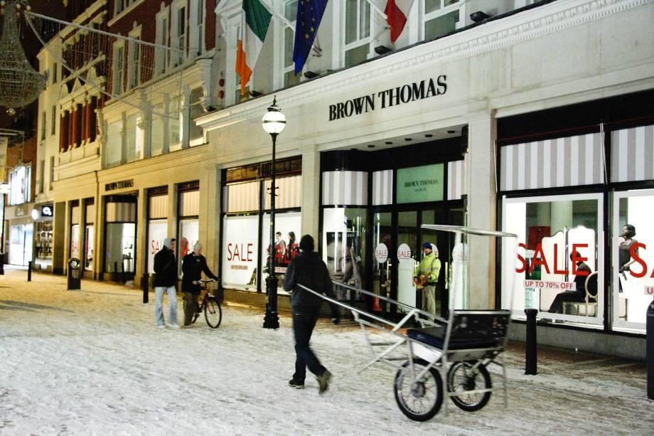 Resista se for capaz à centenária Brown Thomas