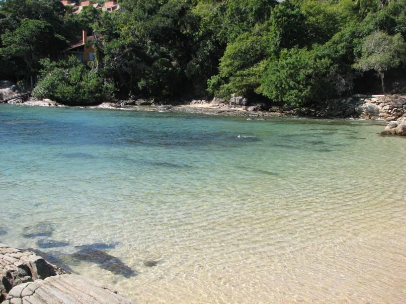 A Praia da Lagoinha é perfeita para a prática de mergulho livre