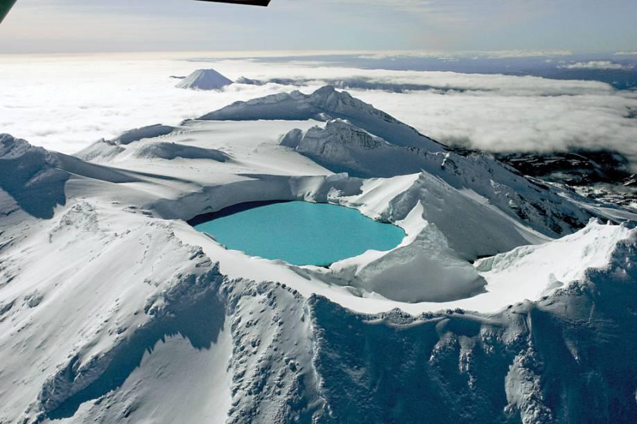 """<strong>Parque Tongariro -<a href=""""http://viajeaqui.abril.com.br/paises/nova-zelandia"""" rel="""" Nova Zelândia """" target=""""_blank""""> Nova Zelândia </a></strong>"""