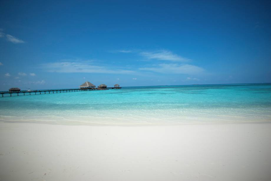 Vista do Kanuhura Hotel Maldives