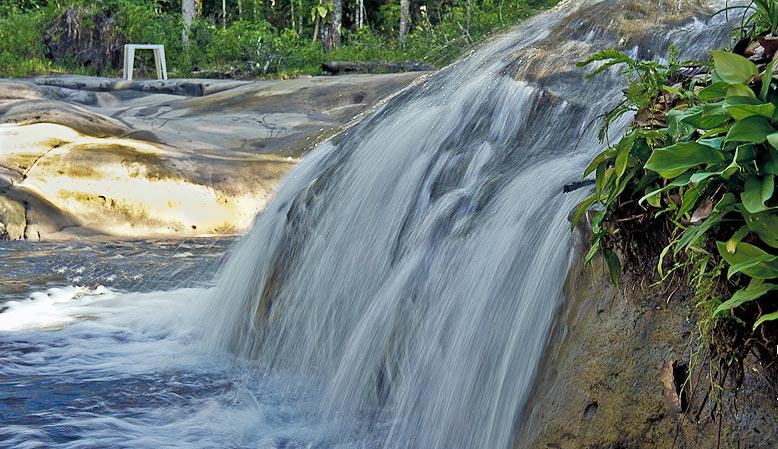 Cachoeira do Berro DÁgua, em Presidente Figueiredo (AM)