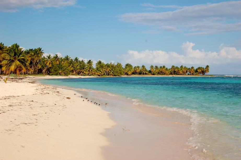 "Ilha de Saona, na <strong><a href=""http://viajeaqui.abril.com.br/paises/republica-dominicana"" rel=""República Dominicana"" target=""_blank"">República Dominicana</a></strong>"
