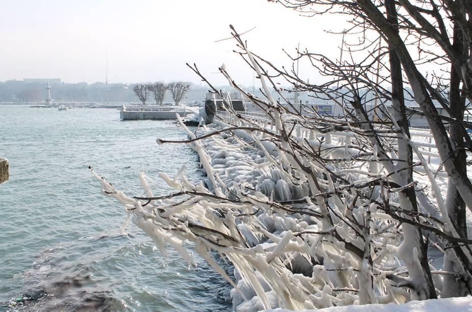 Genebra no inverno