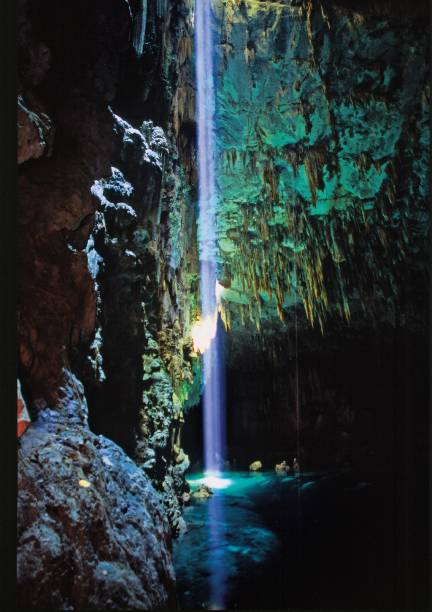"""<a href=""""http://abismoanhumas.com.br/"""" target=""""_blank"""" rel=""""noopener""""><strong>Abismo das Anhumas</strong></a>: Sob uma pequena fenda no solo se esconde a maior caverna submersa do mundo com um espelho-d'água cristalino"""