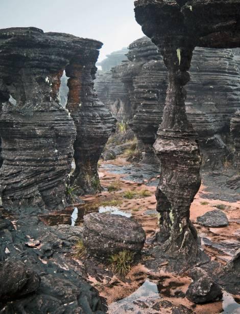 O local no monte conhecido por Labirinto