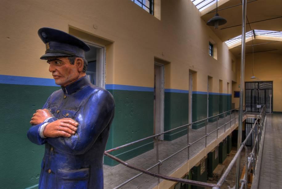 Pelo presídio passaram desde os assassinos perigosos até batedores de carteira ilustres, como Carlos Gardel. O edifício, construído pelos próprios presos, foi transformado no Museu Penitenciário