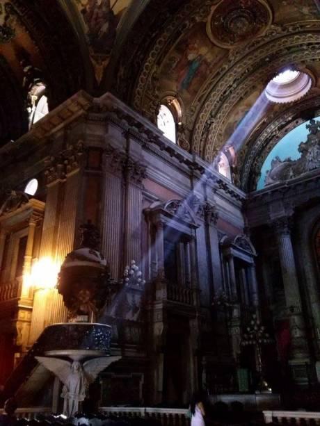 A Igreja da Candelária é um dos belos lugares fotografados pela internauta Rhana Rabbii Venturini