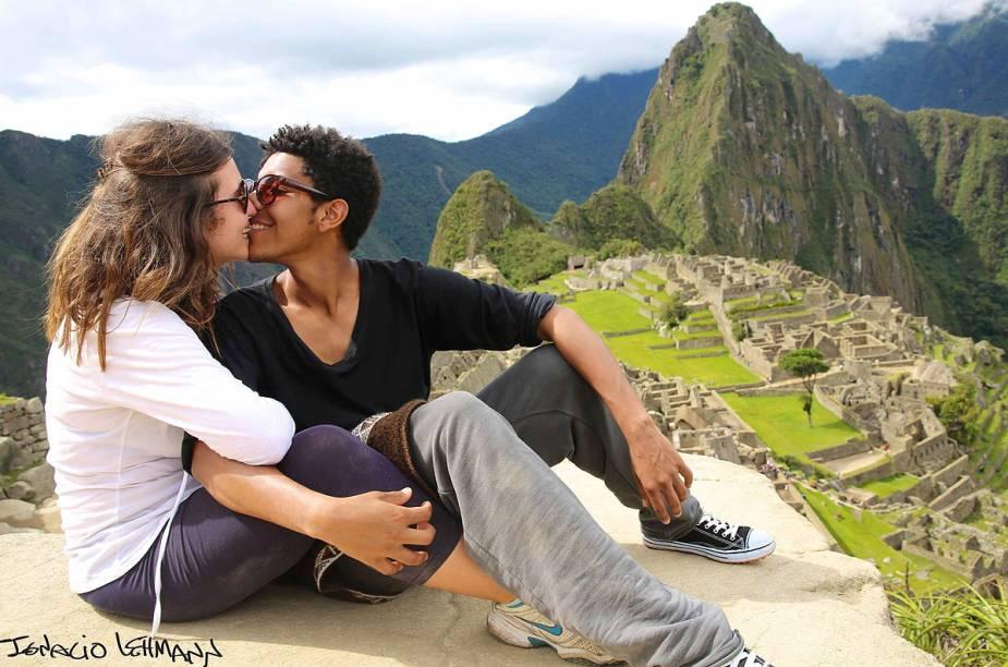 Em dezembro de 2013, Lehmann esteve em Machu Picchu e fotografou vários casais à frente do famoso cenário da cidade perdida dos incas