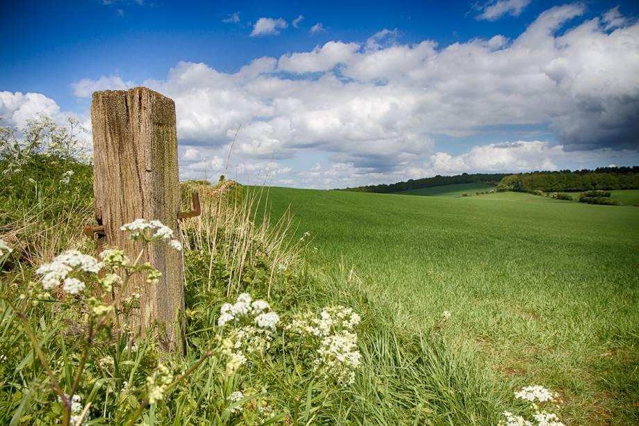 Nem todas as paisagens de Cotswolds são turisticamente conhecidas: algumas têm, até hoje, um apelo encantador, digno de contos de fadas