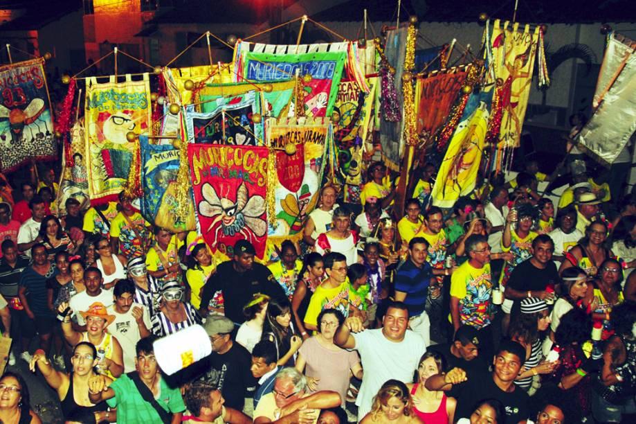 """As muriçocas são blocos de rua responsáveis pela folia durante o pré-Carnaval de <a href=""""http://viajeaqui.abril.com.br/cidades/br-pb-joao-pessoa"""" rel=""""João Pessoa"""" target=""""_self"""">João Pessoa</a>, <a href=""""http://viajeaqui.abril.com.br/estados/br-paraiba"""" rel=""""Paraíba"""" target=""""_self"""">Paraíba</a>"""
