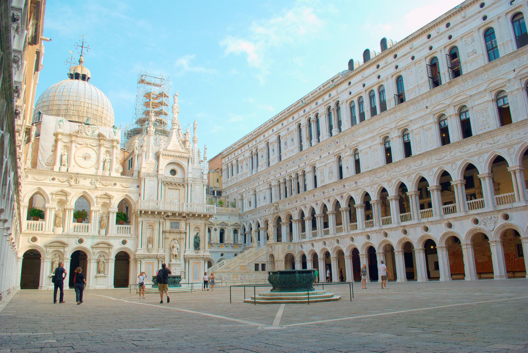 Palazzo Ducale - Veneza, Itália