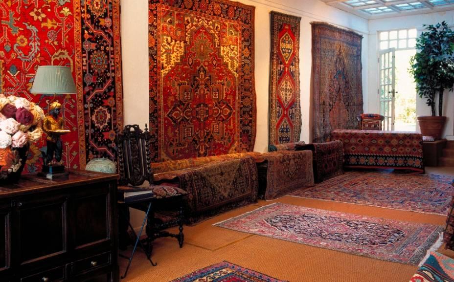 Tapetes são uma das boas compras em Istambul