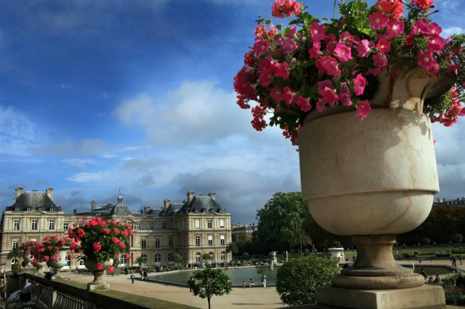 O Palácio de Luxemburgo, comissionado por Maria de Médicis
