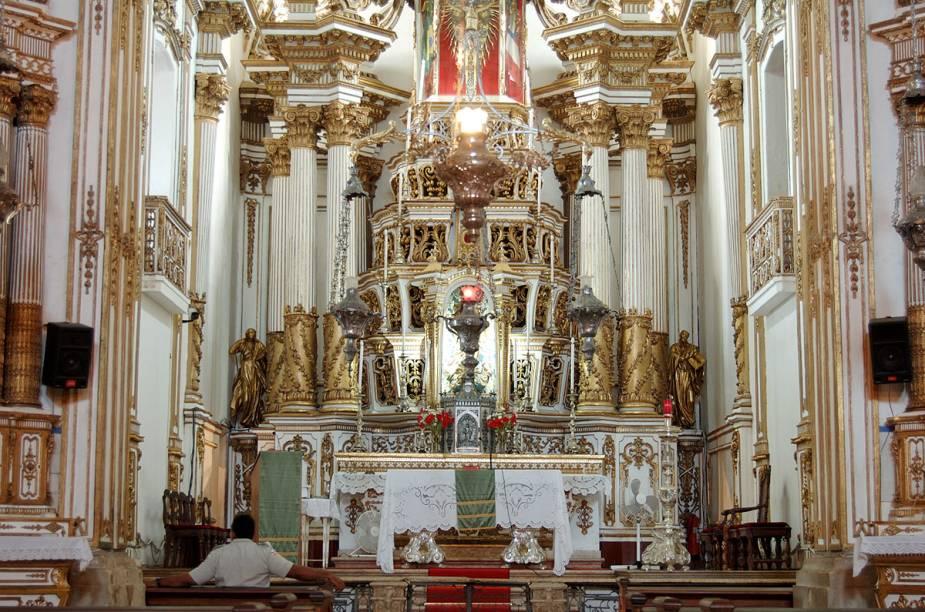 Altar da igreja do Senhor do Bonfim, em Salvador (BA)