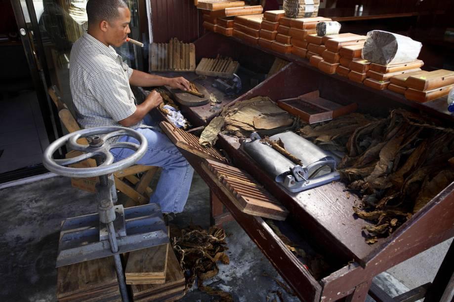 Juntamente com Cuba, os charutos da República Dominicana são apreciados por todo o mundo