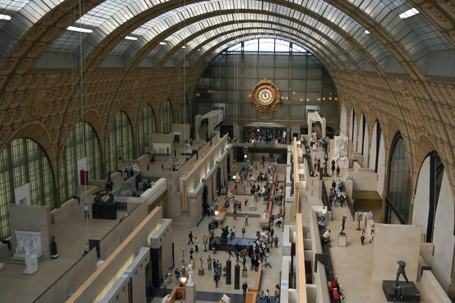 Numa antiga estação ferroviária de Paris, um dos mais charmosos museus do mundo exibe a mais completa coleção de impressionistas do mundo.<strong>Grátis no primeiro domingo do mês</strong><em>(preço regular:€ 12).</em>