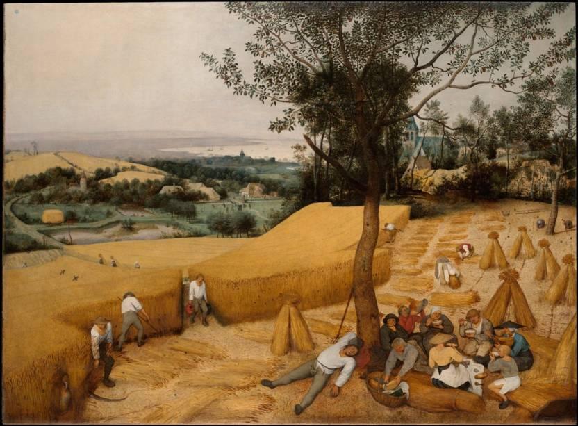 A Colheita, de Pieter Bruegel, o Velho, Metropolitan Museum of Art Nova York