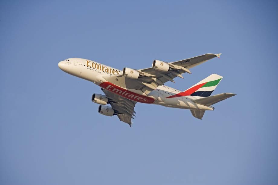 Emirates é eleita a melhor companhia aérea do mundo pela Skytrax World Airline Awards