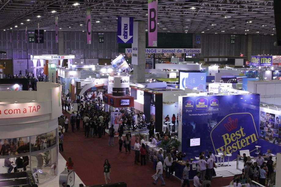 A Feira de Turismo das Américas, ABAV 2013, ocorre no Anhembi, em São Paulo, de 4 a 8 de setembro