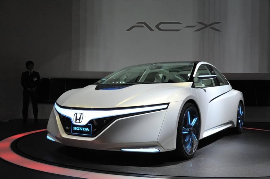 O protótipoAC-X é o novo híbrido da Honda que combina baterias elétricas e combustível comum, mas com uma pegada mais esportiva