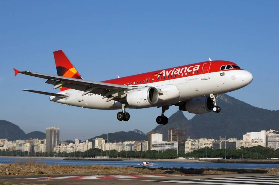 Avião Airbus A319 da Avianca