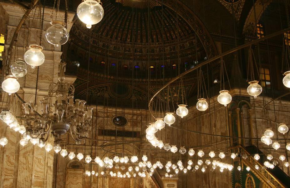 Mesquita Muhammad Ali, apelidada de Mesquita de Alabastro, no Cairo