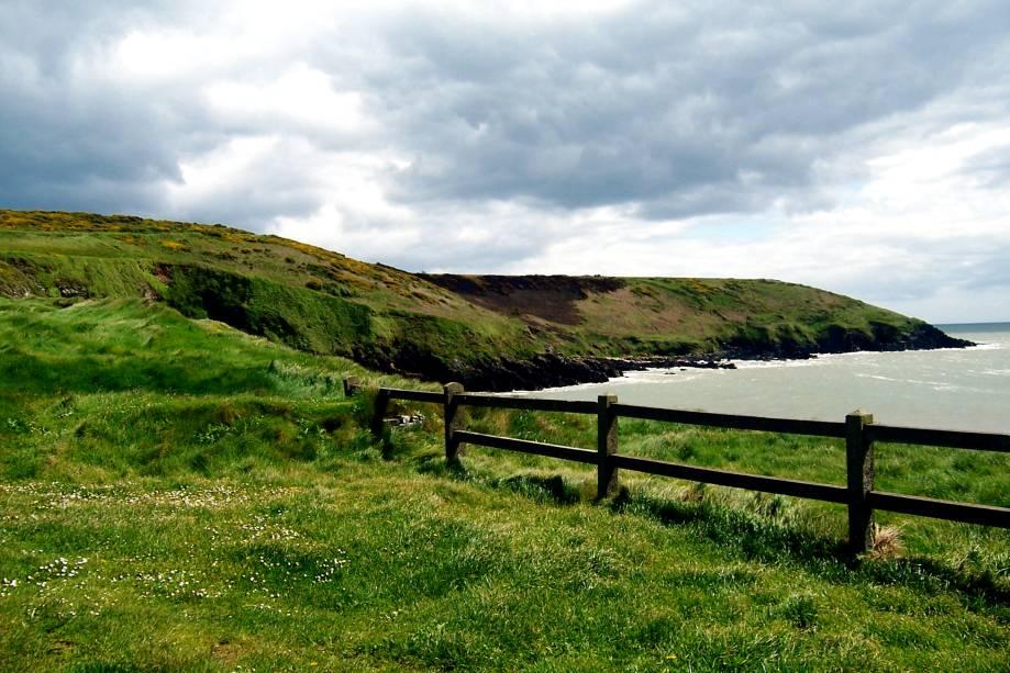 O vilarejo de Ardmore, em County Waterford, é uma região propensa a atividades como a pesca