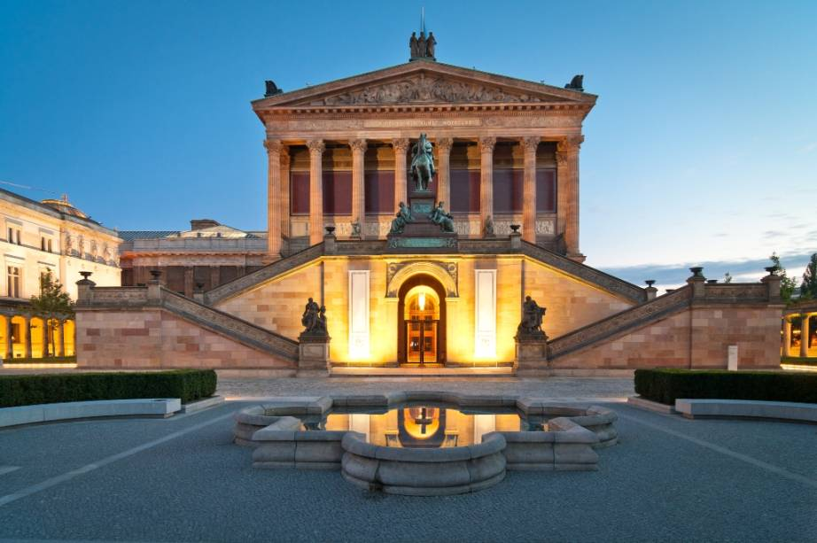 Altes Nationalgalerie, Berlim, Alemanha