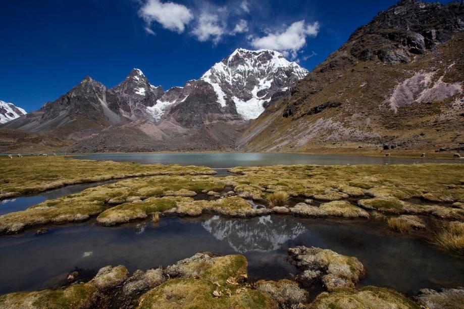 "Trilha de Ausangate, <a href=""http://viajeaqui.abril.com.br/paises/peru"">Peru</a>"