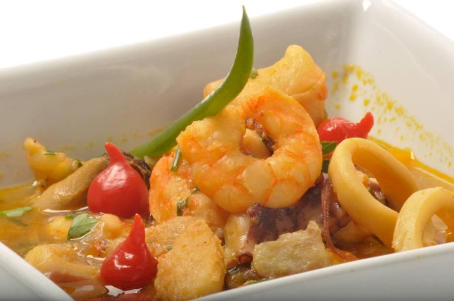 Aproveitando os peixes e frutos do mar, elementos que foram a base da economia de Itajaí por muitos anos, a caldeirada é um dos pratos obrigatórios da Marejada de Itajaí