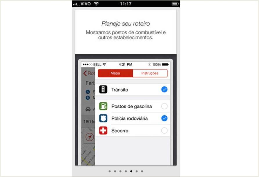 Neste aplicativo você tem acesso via mapa a todas as estradas brasileiras, e pode descobrir o melhor caminho para fazer sua viagem